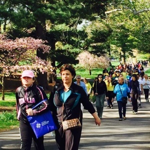 Miles of Smiles 5k Walk for the National Psoriasis Foundation, NYC Division.